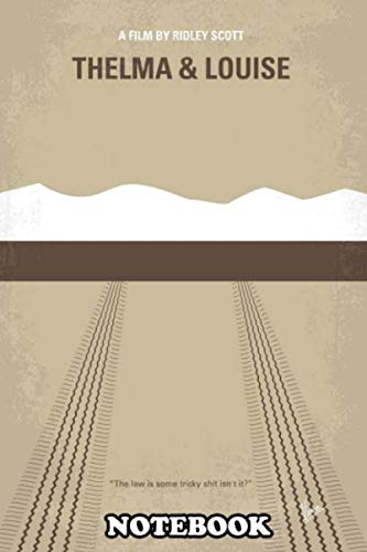 Thelma E Louise Halloween (Notebook: No189 My Thelma And Louise Minimal Movie Poster An Ark , Journal for Writing, College Ruled Size 6
