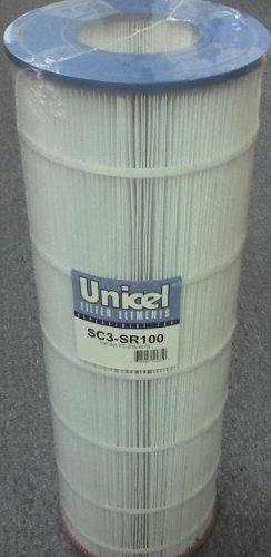 Unicel SC3-SR100 Replacement Filter Cartridge for 102 Square Foot Sta-rite 100TX, 100GPM-TX, 100TXR, T-100TX, T-100TXR, PTM100, Appliances for Home