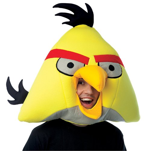 Angry Birds Yellow Bird Adult Costumes - Paper Magic Group Angry Birds Yellow