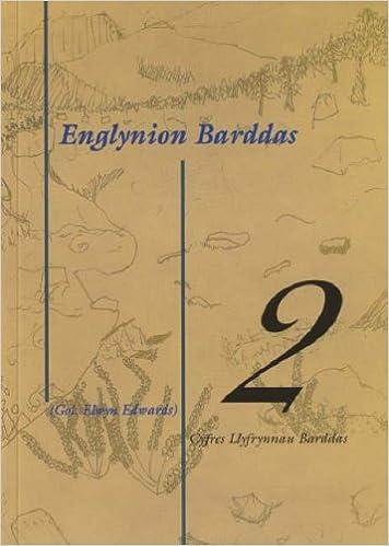 Book Cyfres Llyfrynnau Barddas: Englynion Barddas - 2: v. 2