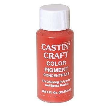 Amazon.com: CASTIN CRAFT Casting Epoxy Resin Opaque Red Pigment ...