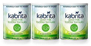 Kabrita Goat Milk Formula, Powder, Non GMO, Natural and Gentle 28oz (3-pack) ()