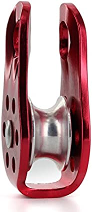 Mountaineering Climbing Rope Pulley Arborist Tree Climb 20KN/2000kg Red