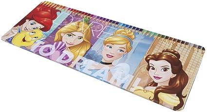 Boite Metal De 50 Crayons De Couleurs Princess Disney Ariel La Belle Cendrillon Et Raiponce Cadeau De Noel Amazon Fr Jardin