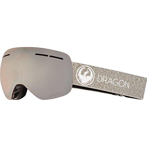 Dragon Alliance X1s Ski Goggles, Medium, Multicolor, Mill/Luma Silver Ion ()