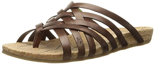 Ahnu Women's Maia Thong Sandal,Brandy,9 M US by Ahnu