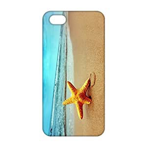 3D Starfish Sea Beach For HTC One M8 Phone Case Cover