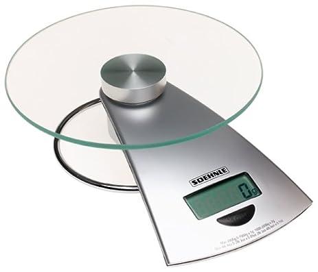 Soehnle 66522 Futura Digital Food Scale, 4 Pound 6 Ounce Capacity