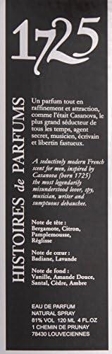 HISTOIRES DE PARFUMS 1725 Eau de Parfum, 120 ml: