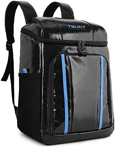 TOURIT Cooler Backpack Waterproof TPU Backpack Cooler Insulated Leak-Proof Soft Cooler Bag for Men Women to Picnic, Hiking, Beach Trip, Theme Park