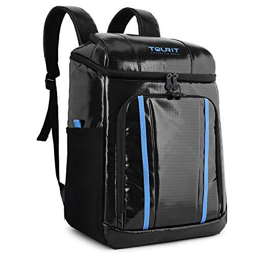 ee526b70c82 TOURIT Cooler Backpack Waterproof TPU Backpack Cooler Insulated Leak-Proof  Soft Cooler Bag for Men Women to Picnic