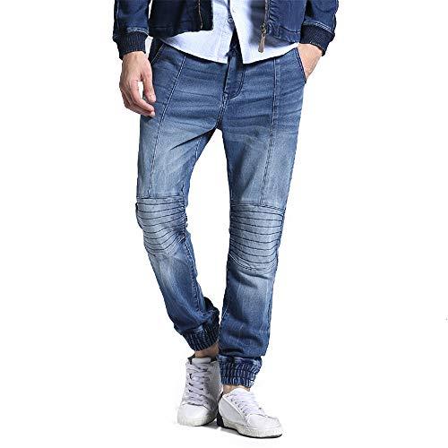 Décontracté Stretch Taille Jeans Élastique Chlyuan Pantalon L'hiver 29 Jersey Hommes Homme taille À En Pour L'automne Et xqSzqRX6