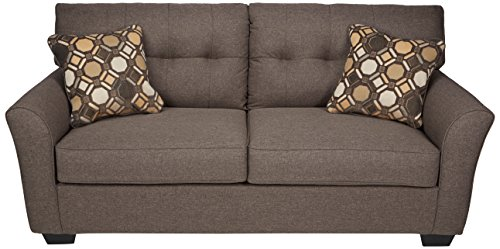 Ashley Furniture Signature Design - Tibbee Sofa - Contemporary Style Couch - Slate