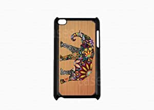 IPOD TOUCH 4G CASE ELEPHANT ON WOOD DESIGN 4TH GEN IPOD Cover LOVELY Pretty B...
