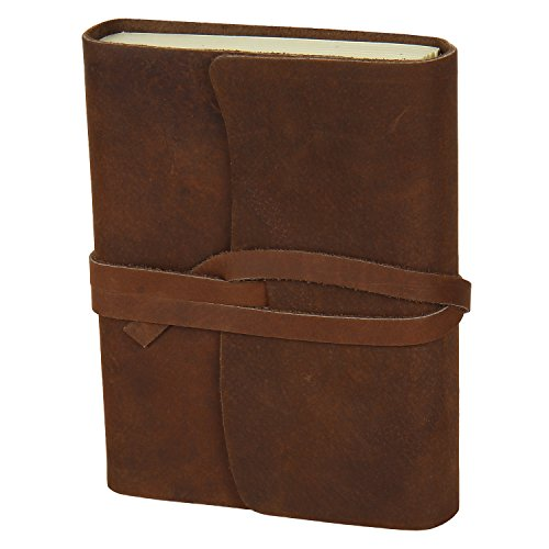 Handmade Medium Vintage Leather Journal Diary gift for him her