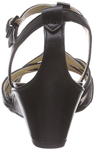 Femme Schwarz black51052 Rivas black Noir 45 Salomés Ecco S1fUqn