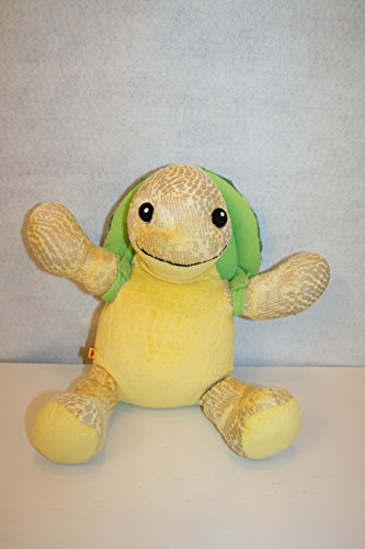 Build a Bear Workshop Yellow Sea Turtle with Shell plush