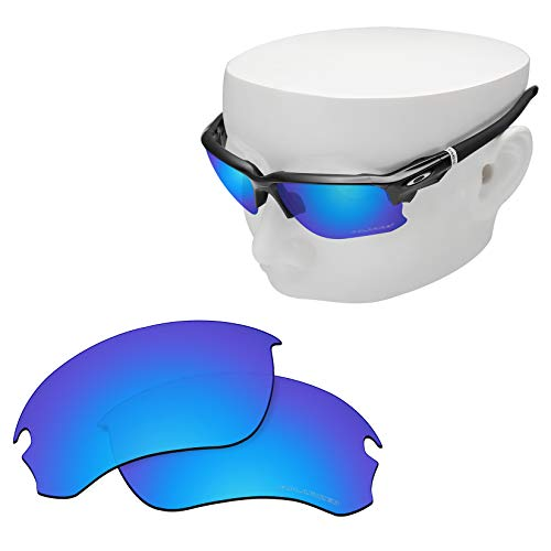 OOWLIT Replacement Lenses Compatible with Oakley Flak Draft Sunglass Ice Combine8 Polarized