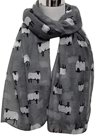 Gift Idea Sheep Print Scarf