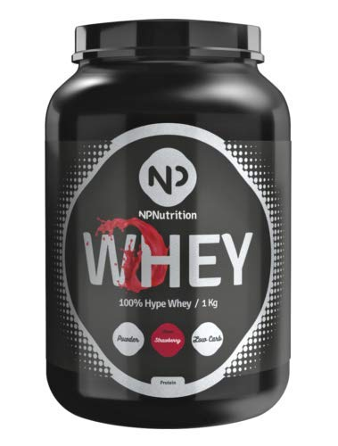 NP Nutrition 100% COMPLETE HYPE WHEY 1kg (Erdbeere)
