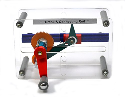 Crank Connecting Rod - Eisco Labs - Mechanical Demonstration Model -Crank & Connecting rod