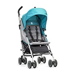 The Vue Lite offers lightweight convenience in an easy-to-use reversible seat umbrella stroller, now only 14.5lbs. Using one hand, you can flip the seat forward or back so that baby can face the parent or face the world. Features a one-hand a...