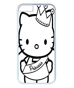 iPhone 6 plus case ,fashion durable white side design phone case, pc material phone cover ,with winner kitty .