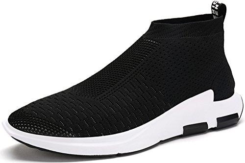 Men's Running Shoes Free Transform Flyknit Fashion Sneakers by JiYe