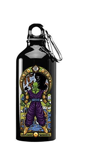Hat Shark Name K Fighting Powerful Men Anime Parody Design 3D Color Printed 17 oz Stainless Steel Water Bottle Black (Bottle Ball Water Dragon Z)