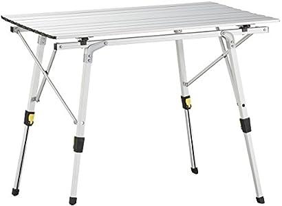 Uquip Variety M Aluminium Falttisch Für 4 Personen Höhenverstellbar