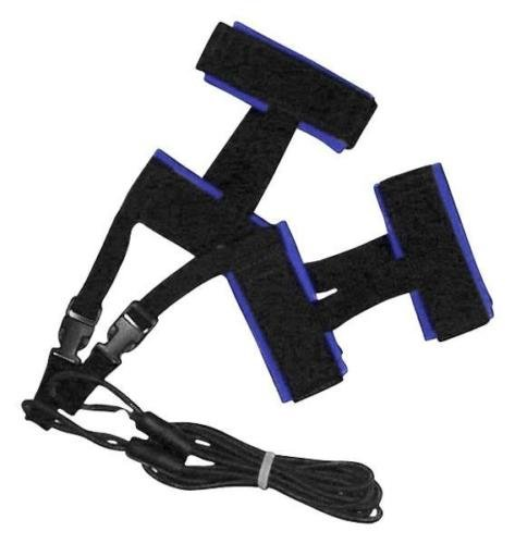 AquaSphere Stationary SWIM TRAINER Cord Harness Marathon ANKLE Tether