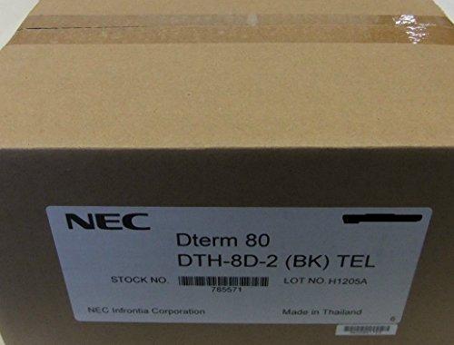 Nec 2 Button (NEC DTH-8D-2 Phone DTH-8D-2(BK) 780571)
