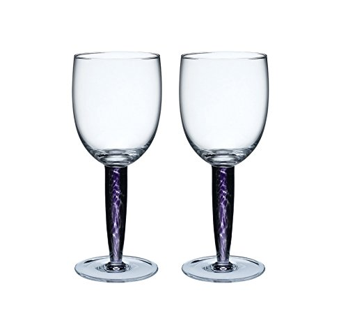 (Denby Amethyst Red Wine Glass, Set of)