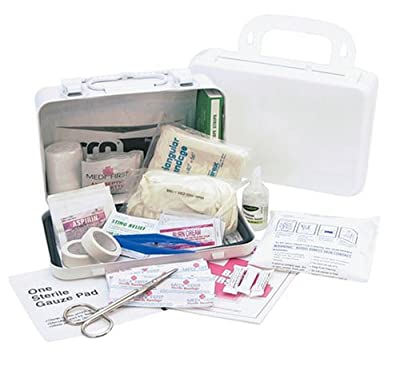Tactical First Aid Kit: Medique 821M10P 10-Person Metal First Aid Kit by Medique Products