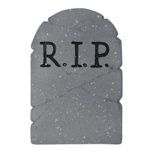Beistle RIP Tombstone 22 Inch 14 Inch