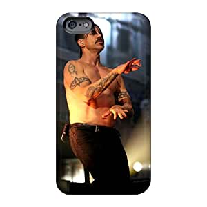Great Hard Phone Case For Iphone 6 With Support Your Personal Customized Trendy Red Hot Chili Peppers Pictures DannyLCHEUNG