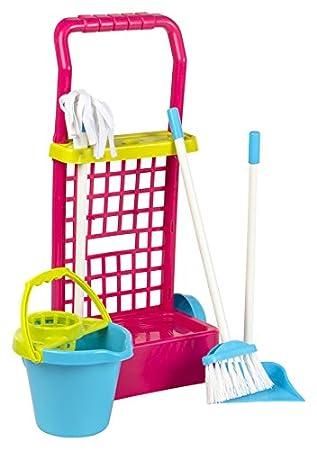 ColorBaby - Carrito limpieza, 43 cm, color rosa (43282): Amazon.es: Juguetes y juegos