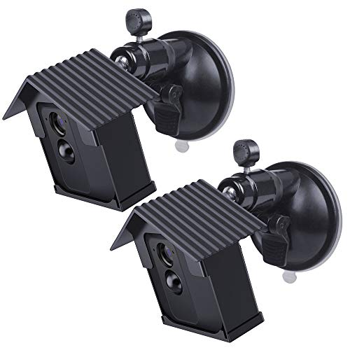 HOLACA Protective Weatherproof Housing + Suction Cup Mount for Blink XT Camera Security System,Compatible Mount for Tiles and Glass,Sturdy&Stable (2 Pack)