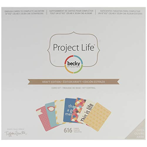 Project Life by Becky Higgins Core Kit - Kraft Edition
