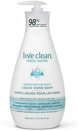Hand Soap: Live Clean Hand Soap