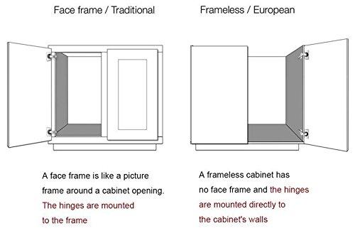 Probrico Bisagras para armario de 135 grados y 165 grados 2//4//10 piezas con clip de cierre suave para armario de cocina armario de cocina bisagras para puerta de armario de armario de cocina