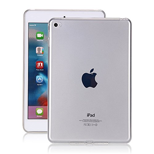 iPad Pro 10.5 Case Clear, Awsaccy(TM) Thin TPU Flexible Soft Rubber Silicon Gel Transparent Shockproof Protective Case Cover for Tablet iPad Pro 2017 Release 10.5 inch (Clear Silicone Skin Case)