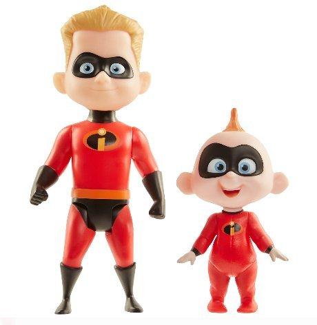Incredibles 2 Champion Series Action Figures - Dash & Jack-Jack