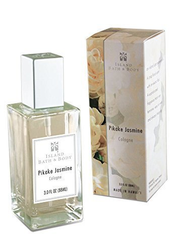 Hawaii Island Bath & Body Cologne 3 fl. oz. Pikake Jasmine b