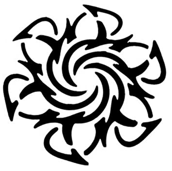 SOLCHIM S.P.A. - plantilla del tatuaje UN BESO: Amazon.es ...