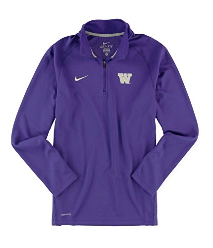 (Nike Mens UW Elite LS Embellished T-Shirt Purple M)