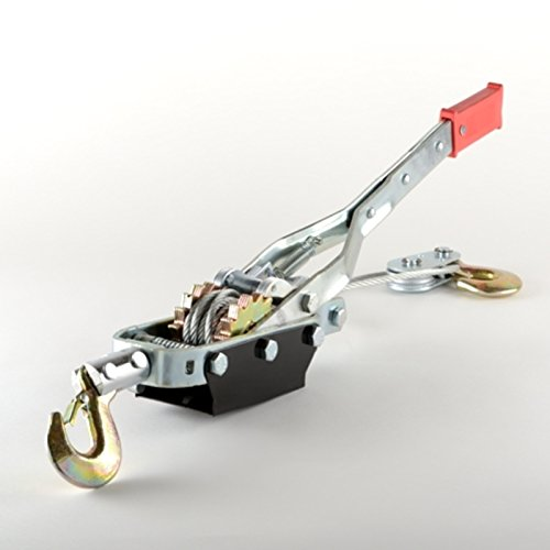 5 Ton Hand Puller Heavy Duty Winch Pull Hoist Come Along Cable Lever (Duty Pulling Ratchet Winch)