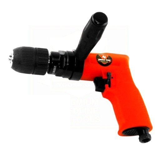 - Neiko 1/2-Inch Composite Reversible Air Drill with Keyless Chuck