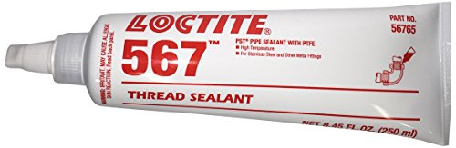 Loctite 567 442-56765 250ml PST Thread Sealant, High Temperature, White Color