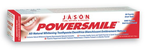 Jason Natural Cosmetics Powersmile dentifrice, menthe poivrée, 6 onces